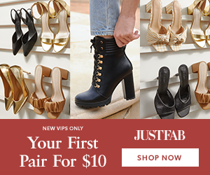 JustFab Get Your First Pair for Only $10