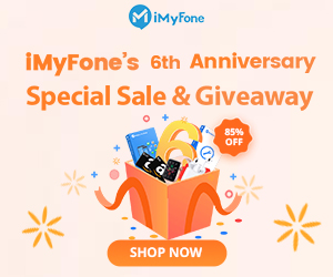 iMyFone 6th Anniversary Sale and Giveaway