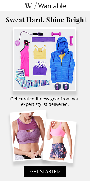 Wantable Fitness Edit (Fashion Subscription). Curated fitness and athleisure apparel at you doorstep. Receive 5-7 performance or athleisure items to try before you buy. Featuring the hottest styles and latest innovations from brands like Beyond Yoga and Wear It To Heart.