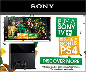 Sony - TV & PS4 Offer - 300x250