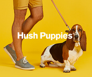 Hush Puppies - Generic Banner -300x250
