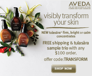 Aveda - Promotional Banner 1 - 300x250