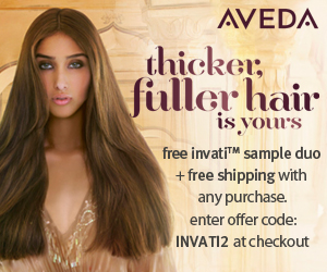 Aveda - Promotional Banner (Boxing Day) - 300x250