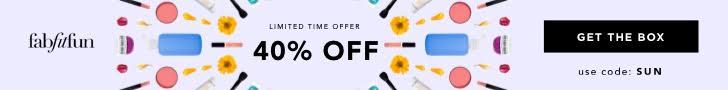 Save 40% off FabFitFun Summer 2018 Editor's Box