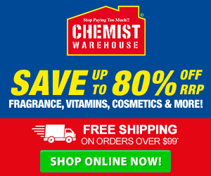 Chemist Warehouse - Promotional Banners - 300x250