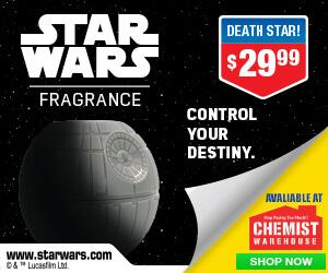 Chemist Warehouse - Star Wars Death Star Banners - 300x250