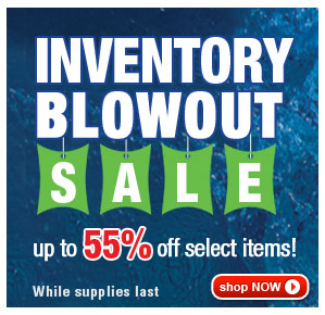Up to 55% Off Inventory Blowout Sale