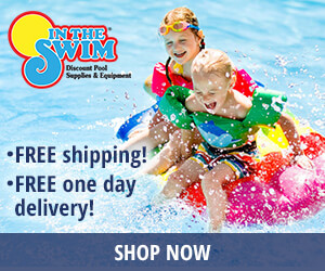 In The Swim Pool Supplies banner