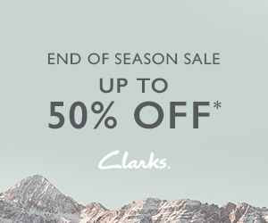 Clarks - Promotional Banners - 300x250