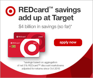 REDcard Savings add up at Target