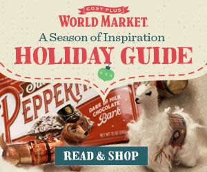 Cost Plus World Market Holiday Guide