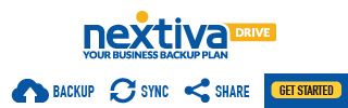 Nextiva Drive: Your Business Backup Plan.  Backup. Sync. Collaborate & Share your important business files. Get Started Now - only $9.95