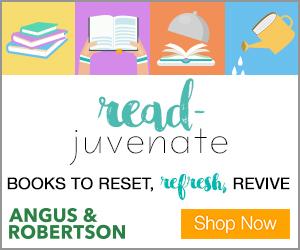 Angus & Robertson - read-juvenate banner 300x250