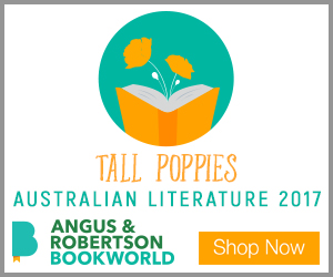 Angus & Robertson - Tall Poppies Banner - 300x250
