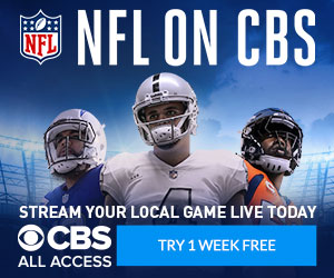 Stream NFL on CBS