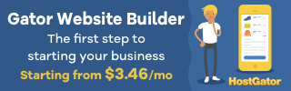 Gator Website Builder banner