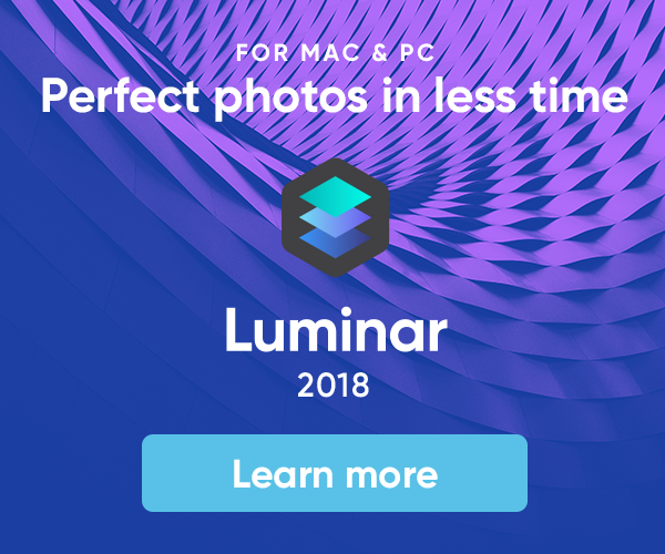 Luminar 2018 Version 1.3.0 Released for MAC and Windows