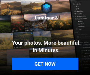 Luminar 3. The best photo editing software for Mac and PC.