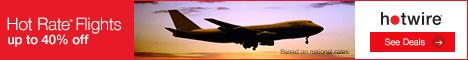 Hot Rate Flights