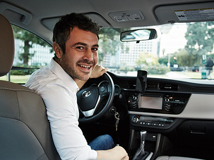 Earn extra cash with Uber