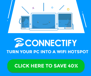 Connectify Me Review: Turn Your Laptop Into a Hotspot 5