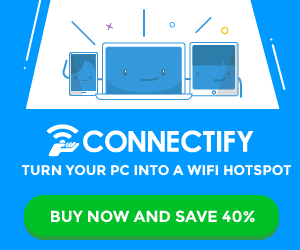 Connectify Me Review: Turn Your Laptop Into a Hotspot 1