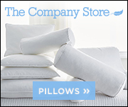 The Company Store pillows