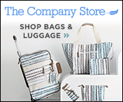 The Company Store bags and luggage