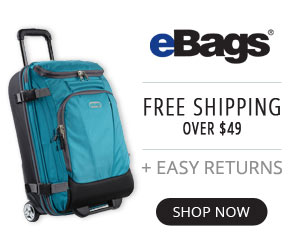 eBags luggage deals 2018 plus free shipping