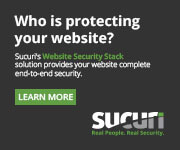 Get protected with Sucuri