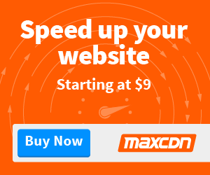 Upgrade Your Website to the World's Best Content Delivery Network - MaxCDN for Faster Loading Times