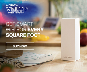 Get smart wifi for every square foot with Linksys Velop