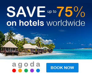 Agoda.com - Save Up to 75% - 300x250