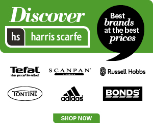 Harris Scarfe - Promotional Banner - 300x250