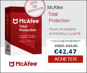 Télécharger McAfee Total Protection essai gratuit