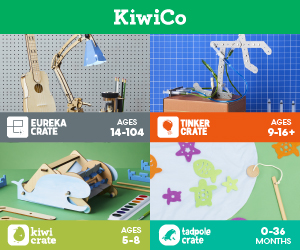 Kiwi Co - a great non toy kid's gift