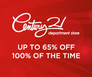 Century 21 Department Stores banner