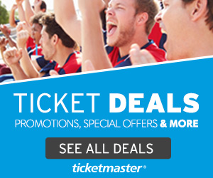 Ticketmaster Deals and Coupons NYC