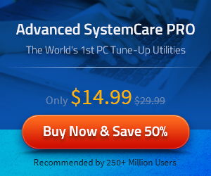 IObit Advanced SystemCare PRO