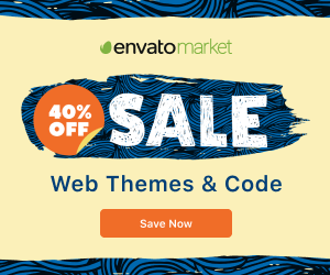 40% OFF Web Themes & Templates, 40% off WP Themes & HTML Templates