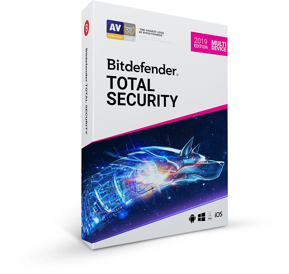 Complete protection for Windows, macOS, Android and iOS
