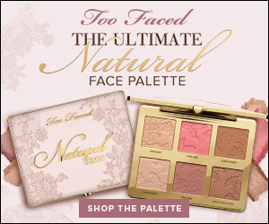 Too Faced Cosmetics banner