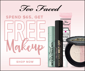 Too Faced Free Makeup Promo