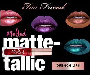 Too Faced Melted matte-tallic