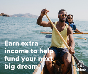 Airbnb: Earn extra income to help fund your next big dream