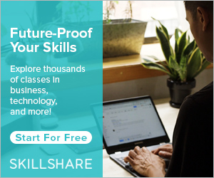 Improve your freelance writing skills with Skillshare