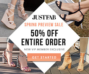 JustFab Personalized Fashion Boutique VIP Promo