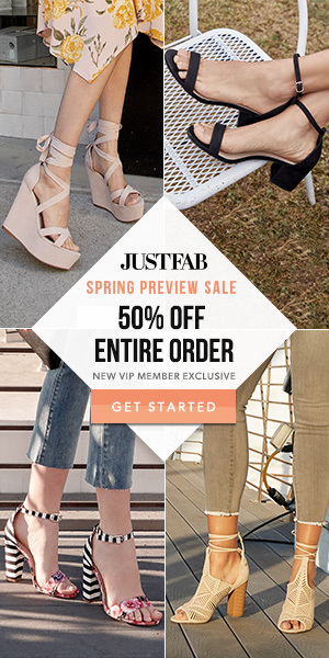 JUSTFAB June 2018 Deals