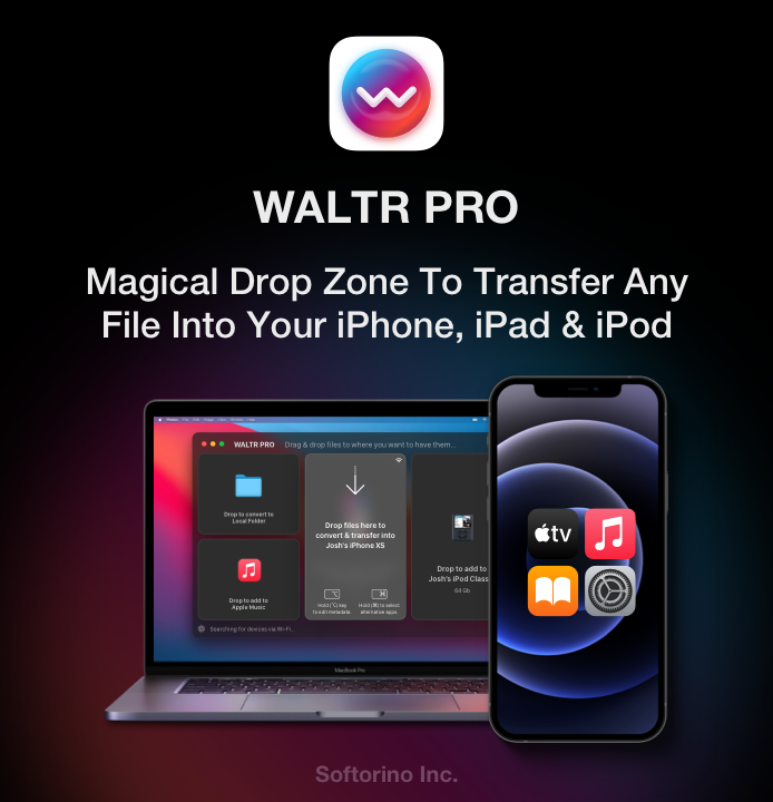 Waltr Pro Convert for macOS and Windows Windows