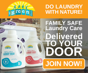 Do laundry with nature! Non-Toxic Laundry Care Delivered Right TO YOUR DOOR! JOIN NOW!